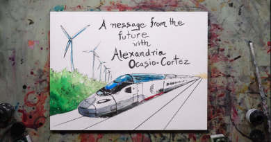 #28-19 Railroad to the Green New Deal …Getting out of our issue silos and working together for all is the way